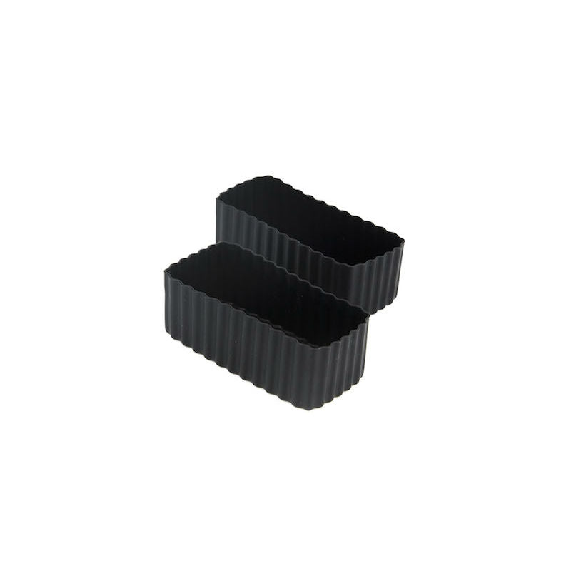 Little Lunch Box Co Bento Cup 2 Pack Rectangle – Black