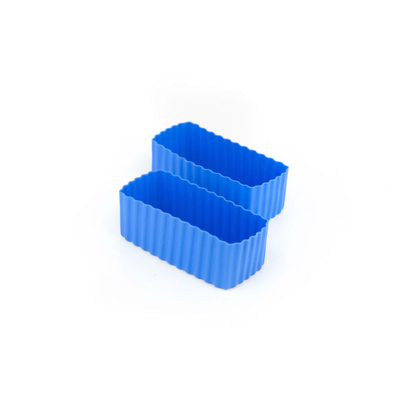 Little Lunch Box Co Bento Cups Rectangle – Blue