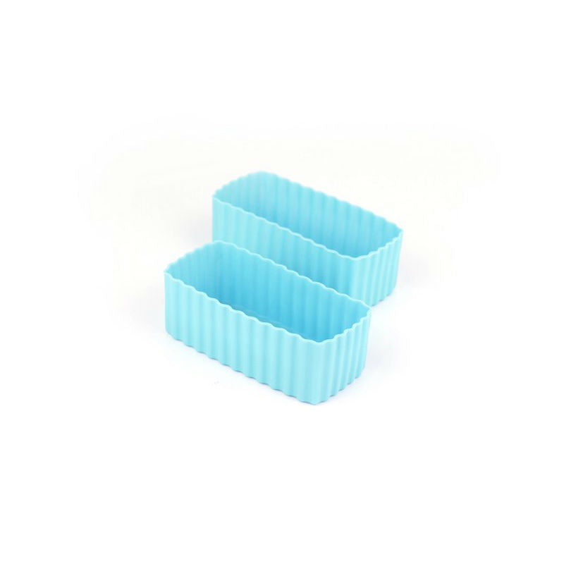 Little Lunch Box Co Bento Cup 2 Pack Rectangle – Light Blue