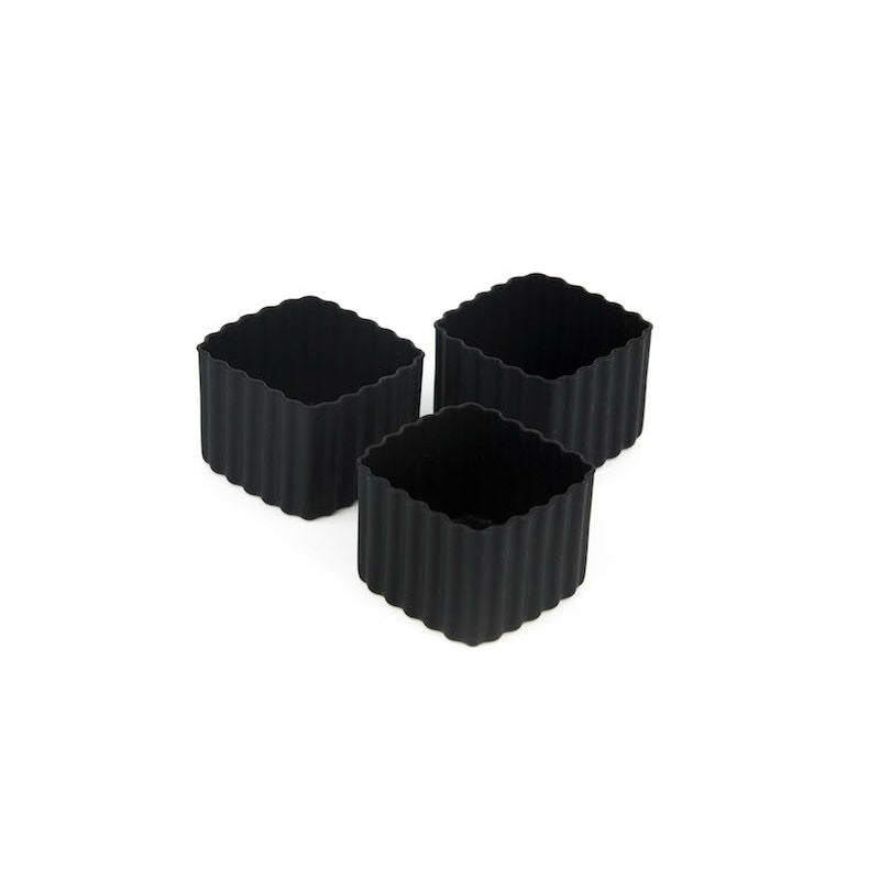 Little Lunch Box Co Bento Cup 3 Pack Square – Black