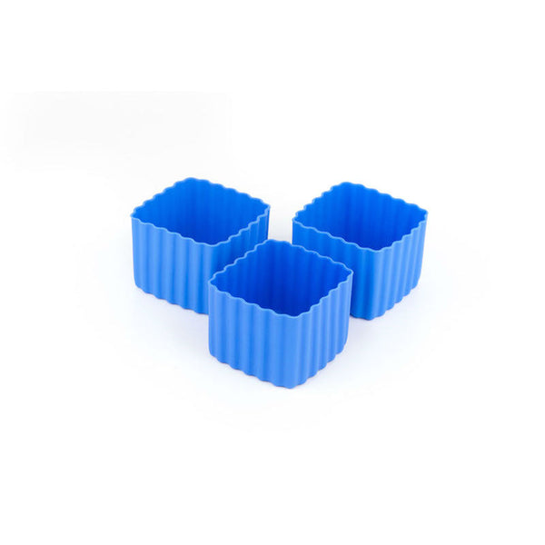 Little Lunch Box Co Bento Cup 3 Pack Square – Blue