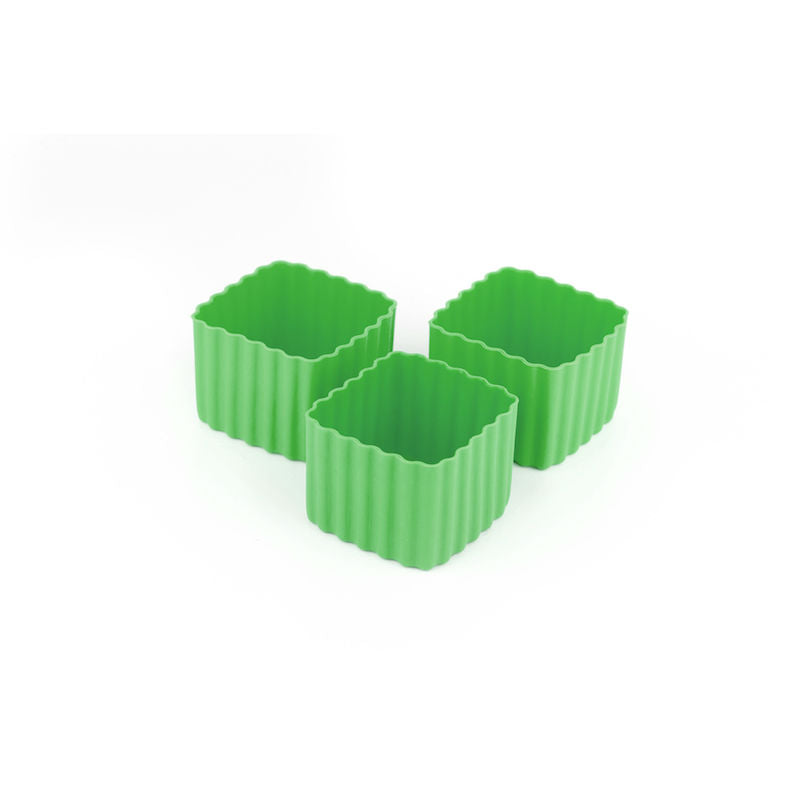 Little Lunch Box Co Bento Cup 3 Pack Square – Green
