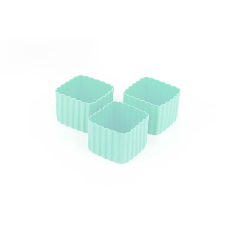 Little Lunch Box Co Bento Cup 3 Pack Square – Mint