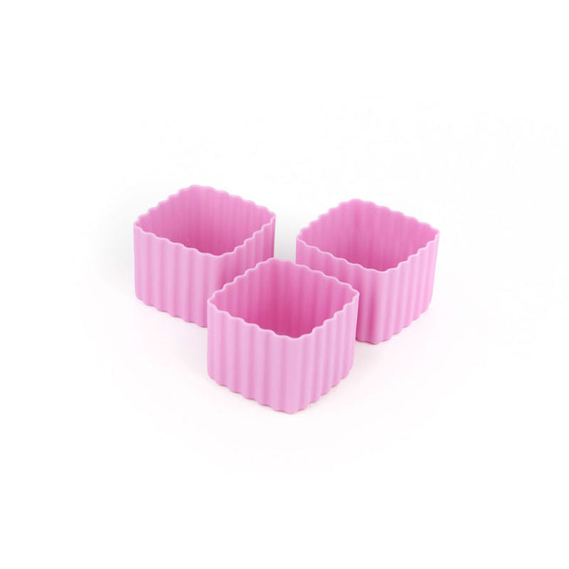 Little Lunch Box Co Bento Cup 3 Pack Square – Pink