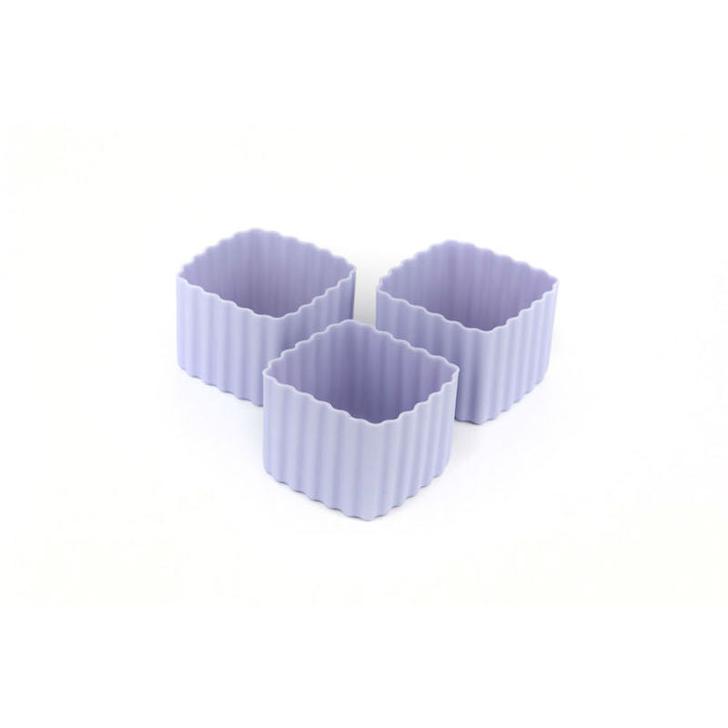 Little Lunch Box Co Bento Cup 3 Pack Square – Purple