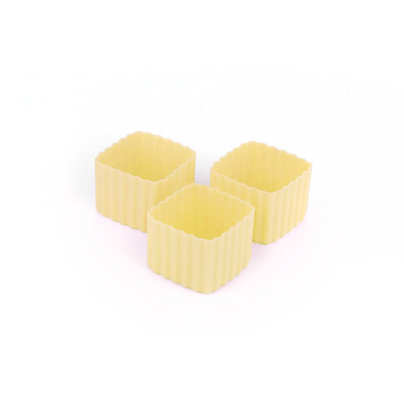Little Lunch Box Co Bento Cup 3 Pack Square – Yellow