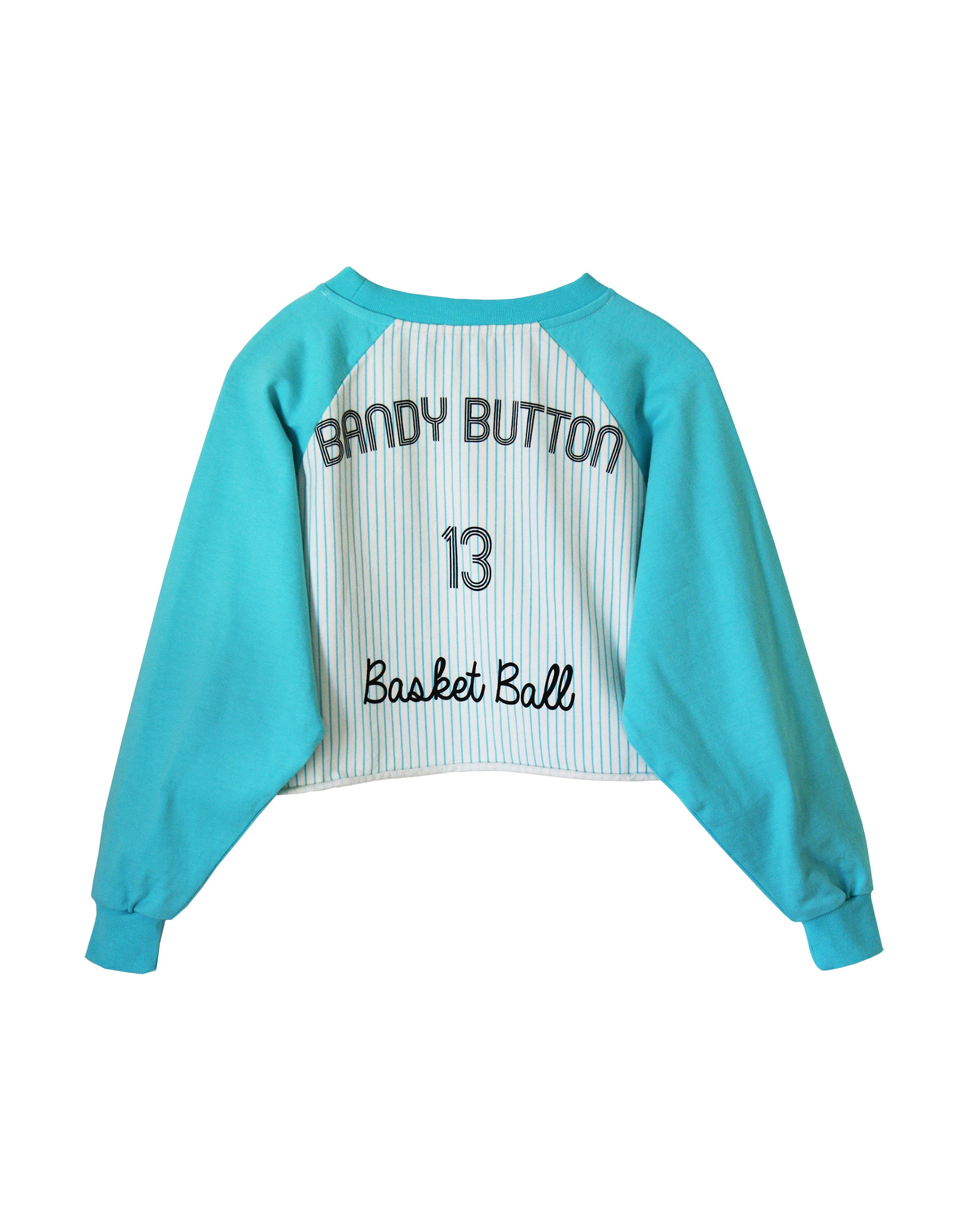 Bandy Button Culter Short Sweatshirt