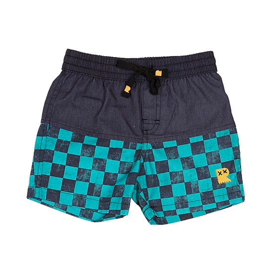 Rock Your Kid Checker Boardshorts