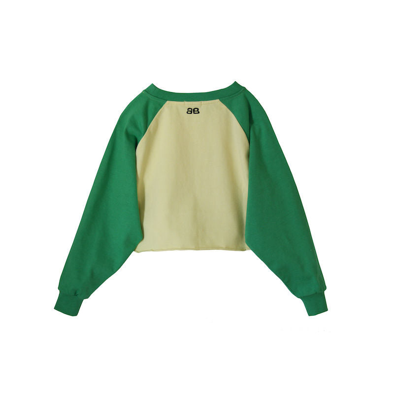 Bandy Button Doral Short Sweatshirt