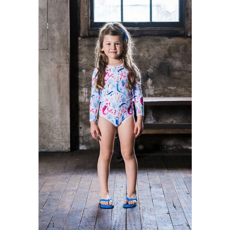 Rock Your Kid Ocean Sprite LS One Piece