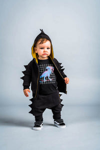 Rock Your Kid Dino Hoodie