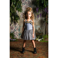Rock Your Kid Silver Daydreamer Dress