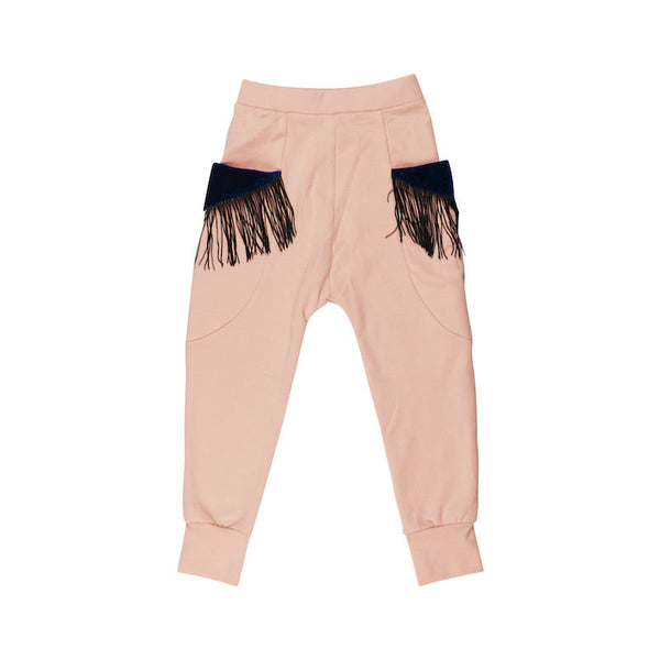 WAUW CAPOW By Bangbang Mia Fringe Pants fleece
