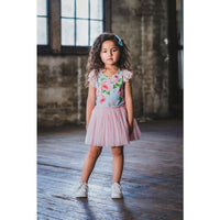 Rock Your Kid Vintage Girl Lace Circus Dress