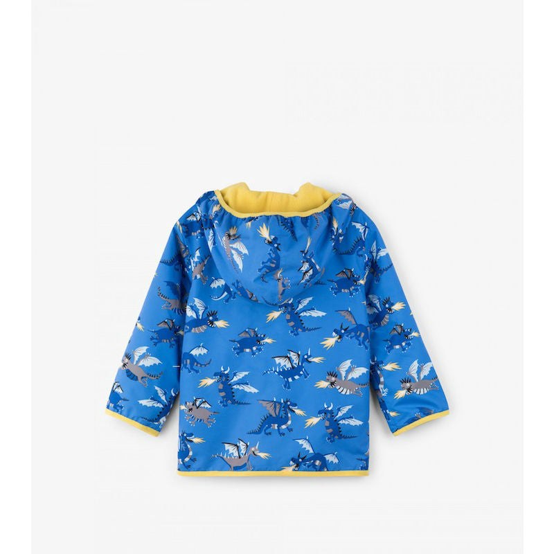 Hatley Fire Breathing Dragons Microfiber Rain Jacket