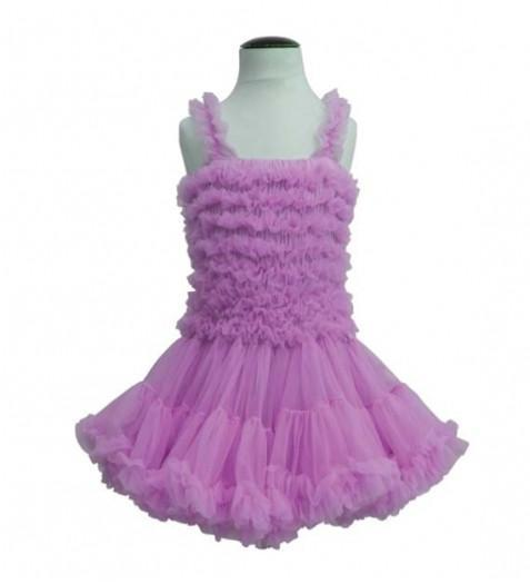 Angel's Face Violet Dress