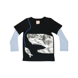 WAUW CAPOW By Bangbang Fresh Shark t-shirt