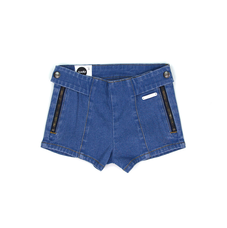 Sudo Daisy Denim Shorts