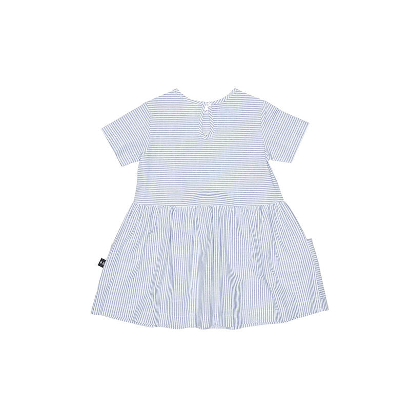 Huxbaby Strip Darcy Dress