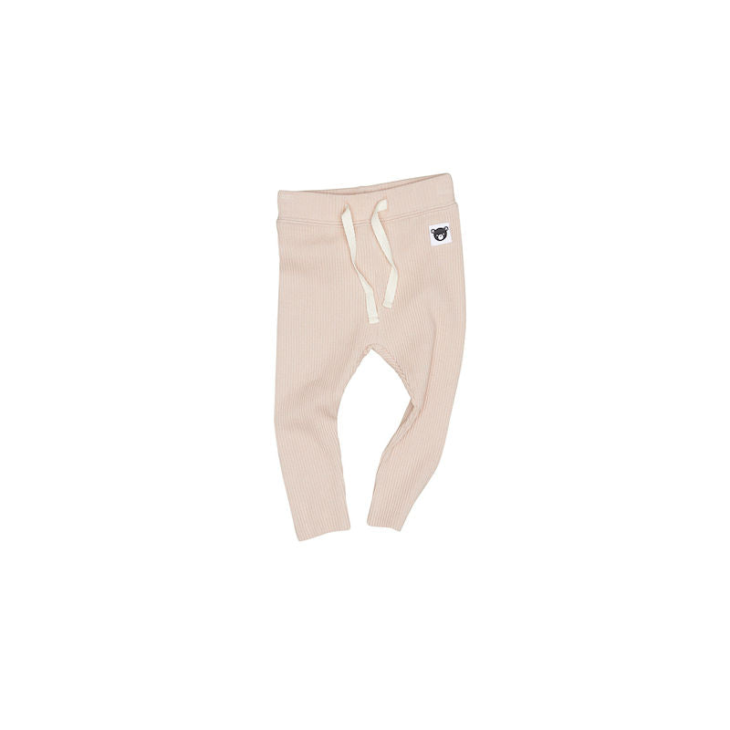 Huxbaby Rib Legging Rose