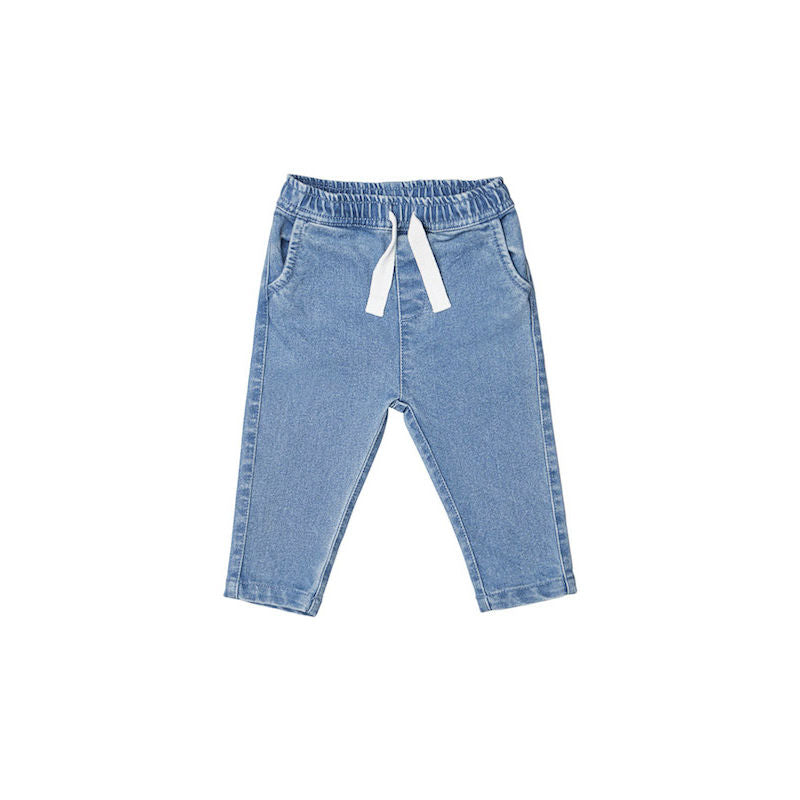 Huxbaby Denim Relaxed Pant