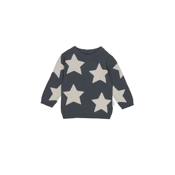 Huxbaby Star Knit Jumper
