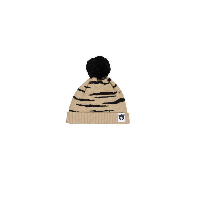 HuxBaby Honey Wildcat Knit Beanie