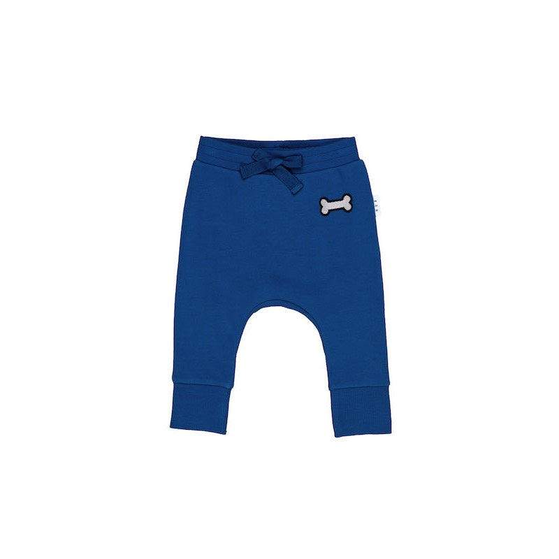 Huxbaby Dog Bone Drop Crotch Pant Fleece