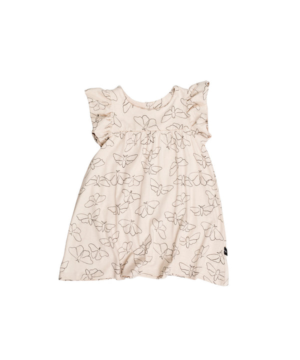 Huxbaby Butterfly Frill Dress