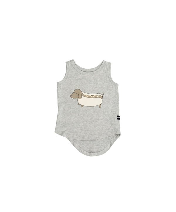 Huxbaby Hot Doggy Singlet