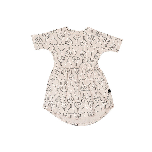 Huxbaby Heart Pop Swirl Dress