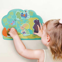 Oribel VertiPlay sensory Wall Toys Hoppy Bunny & Friends