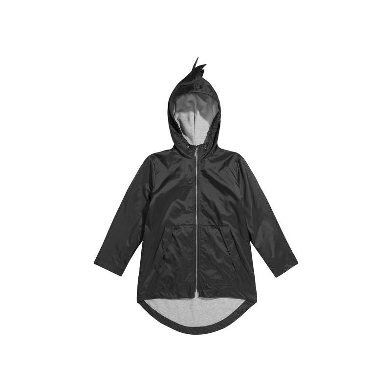 Kukukid DINO RAINCOAT Black