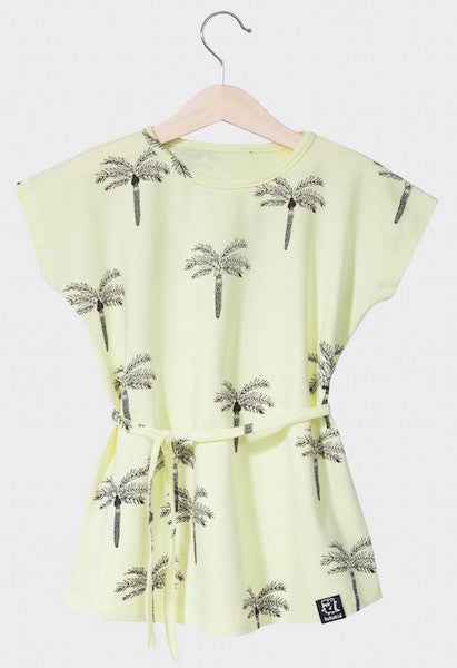 [SALE]Kukukid DRESS/TUNIC Lemon Palms