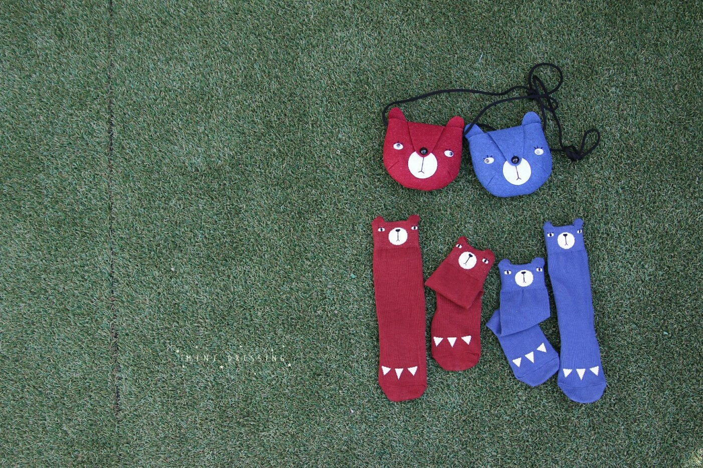Mini Dressing Bear Bag