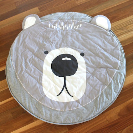 Mister Fly Bear Face Playmat