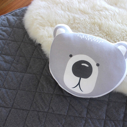 Mister Fly Bear Cushion