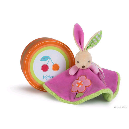 Kaloo Colours Round Doudou Rabbit - Flower