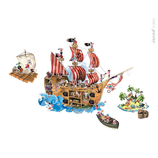 Janod Pirates Magnetistick
