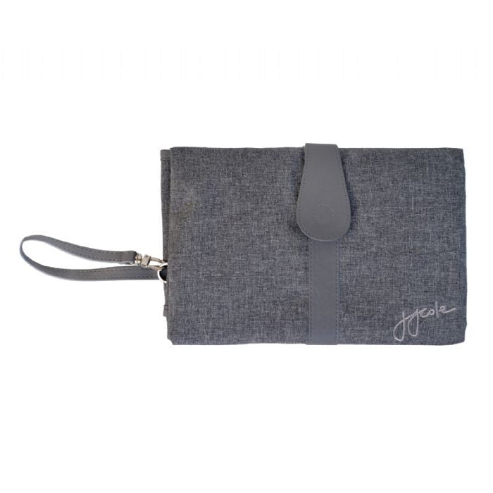 JJ Cole Changing Clutch - Grey Heather