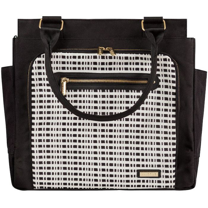 JJ Cole Freeman Bag - Black & Cream