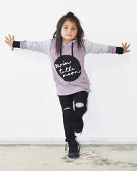 Radicool Kids Biker Jean In Black