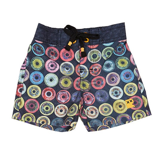 Rock Your Kid Keep It Wheel Boardshorts