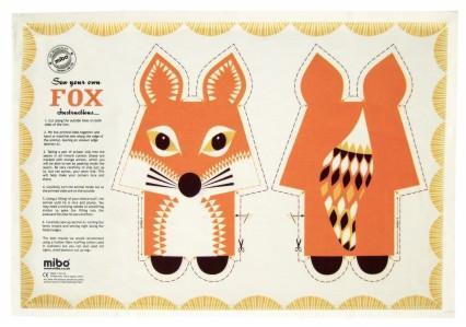 Mibo Tea Towel - Fox