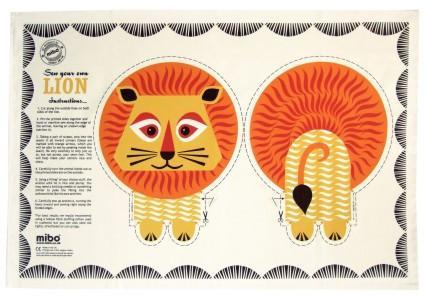 Mibo Tea Towel - Lion