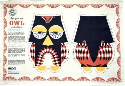 Mibo Tea Towel - Owl