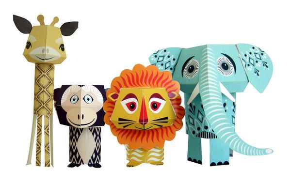 Mibo Paper Animals - The Wild Bunch