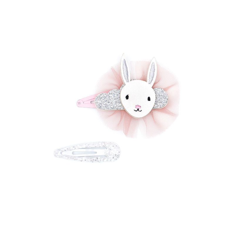 Billy Loves Audrey Dreaming Bunny 2pk Clips