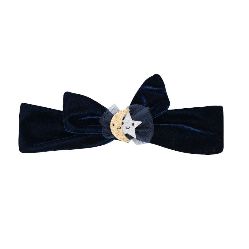 Billy Loves Audrey Wish Upon A Star Velvet Tie Head Band