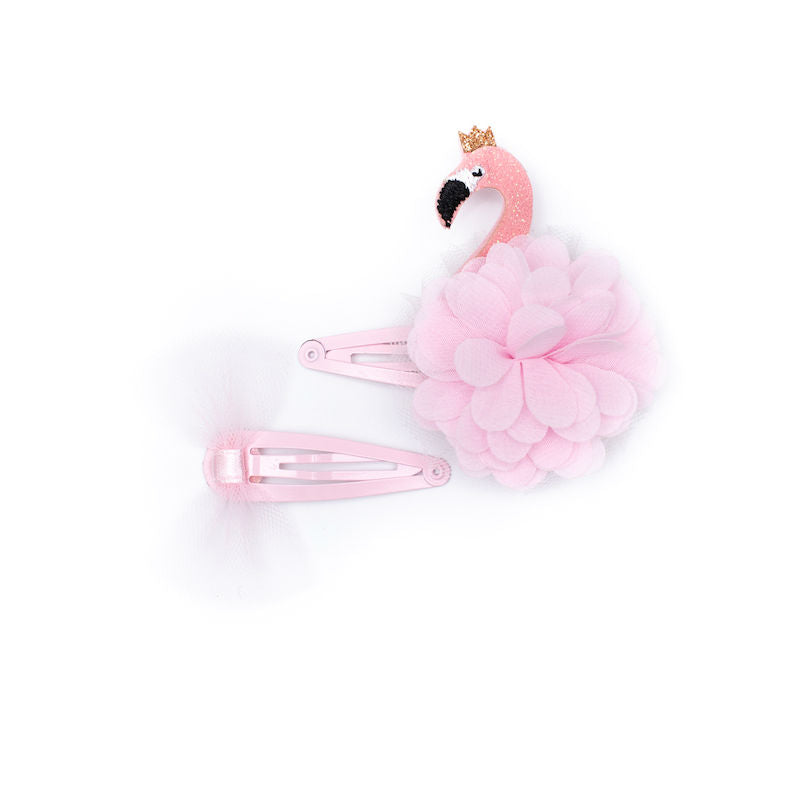 Billy Loves Audrey Flamingo Clip Set
